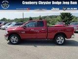 2014 Deep Cherry Red Crystal Pearl Ram 1500 Big Horn Quad Cab 4x4 #84809667