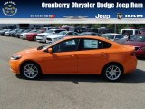 2013 Header Orange Dodge Dart SXT #84809663