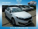 2013 Snow White Pearl Kia Optima LX #84810063