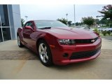 2014 Crystal Red Tintcoat Chevrolet Camaro LT Coupe #84809957