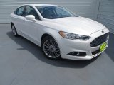 2013 White Platinum Metallic Tri-coat Ford Fusion SE 2.0 EcoBoost #84809771