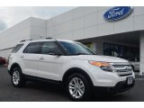 2014 White Platinum Ford Explorer XLT #84809756