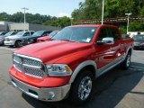 2014 Flame Red Ram 1500 Laramie Crew Cab 4x4 #84809845