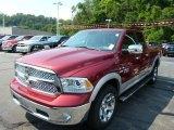 2014 Deep Cherry Red Crystal Pearl Ram 1500 Laramie Quad Cab 4x4 #84809844