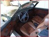 Volkswagen Karmann Ghia Interiors