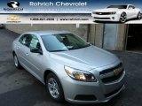 2013 Silver Ice Metallic Chevrolet Malibu LS #84860097
