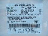 2013 F150 Color Code for White Platinum Metallic Tri-Coat - Color Code: UG