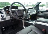2013 Ford F150 FX4 SuperCrew 4x4 Black Interior