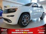 2014 Bright White Jeep Grand Cherokee SRT 4x4 #84859673