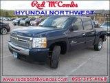2010 Imperial Blue Metallic Chevrolet Silverado 1500 LT Crew Cab #84859601
