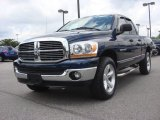 2006 Patriot Blue Pearl Dodge Ram 1500 SLT Quad Cab 4x4 #84859669