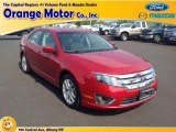 2010 Red Candy Metallic Ford Fusion SEL V6 #84859793