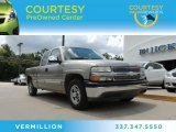 1999 Light Pewter Metallic Chevrolet Silverado 1500 LS Extended Cab #84860066