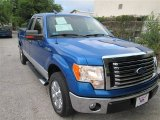 2010 Blue Flame Metallic Ford F150 XLT SuperCab #84859566