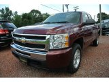 2009 Deep Ruby Red Metallic Chevrolet Silverado 1500 LT Extended Cab #84860032