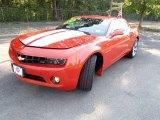 2010 Inferno Orange Metallic Chevrolet Camaro LT/RS Coupe #84859481