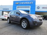 2013 Atlantis Blue Metallic Chevrolet Equinox LS #84908029