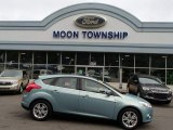 2012 Frosted Glass Metallic Ford Focus SEL 5-Door #84907917