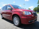 2014 Chrysler Town & Country Deep Cherry Red Crystal Pearl