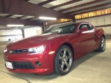 2014 Crystal Red Tintcoat Chevrolet Camaro LT/RS Coupe #84907783