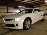2014 Summit White Chevrolet Camaro LS Coupe #84907782