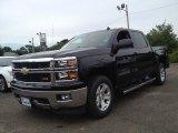 2014 Black Chevrolet Silverado 1500 LT Z71 Crew Cab 4x4 #84907781