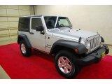 2011 Bright Silver Metallic Jeep Wrangler Sport S 4x4 #84907772