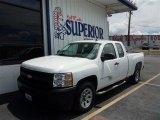 2009 Summit White Chevrolet Silverado 1500 Extended Cab #84907654