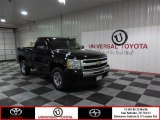 2009 Black Chevrolet Silverado 1500 Regular Cab #84907644