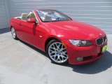 2007 Crimson Red BMW 3 Series 328i Convertible #84907973