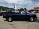 2005 Dark Blue Metallic Chevrolet Silverado 1500 Regular Cab 4x4 #84907743
