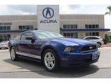 2013 Grabber Blue Ford Mustang V6 Coupe #84907535