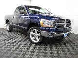2006 Atlantic Blue Pearl Dodge Ram 1500 SLT Quad Cab 4x4 #84908101
