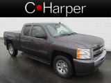 2011 Taupe Gray Metallic Chevrolet Silverado 1500 LS Extended Cab 4x4 #84908216
