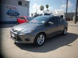 2014 Sterling Gray Ford Focus SE Sedan #84907635