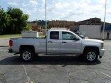 2014 Silver Ice Metallic Chevrolet Silverado 1500 LT Double Cab 4x4 #84907738