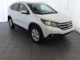 2014 White Diamond Pearl Honda CR-V EX-L #84907532