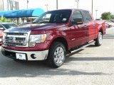 2013 Ruby Red Metallic Ford F150 XLT SuperCrew #84907629