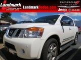 2012 Blizzard White Nissan Armada Platinum #84907837