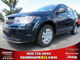 2014 Fathom Blue Pearl Dodge Journey SE #84907825