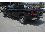 2005 Chevrolet Silverado 3500 Black