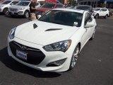 2013 White Satin Pearl Hyundai Genesis Coupe 3.8 Track #84965063