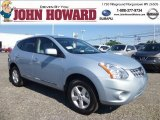 2013 Frosted Steel Nissan Rogue S AWD #84965239