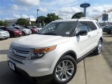 2014 White Platinum Ford Explorer XLT #84965107