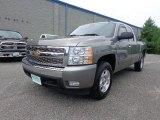 2008 Graystone Metallic Chevrolet Silverado 1500 LT Extended Cab #84965044