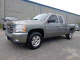 Graystone Metallic Chevrolet Silverado 1500 in 2008