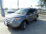 2014 Sterling Gray Ford Explorer XLT #84965105
