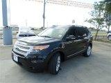 2014 Tuxedo Black Ford Explorer XLT #84965104