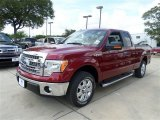 2013 Ruby Red Metallic Ford F150 XLT SuperCab #84965102