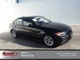 2008 Black Sapphire Metallic BMW 3 Series 328i Sedan #84965188